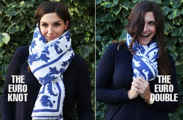 Ten ways to wear a scarf