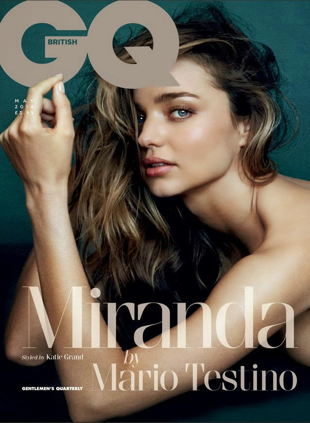 Miranda Kerr bares it all for the GQ UK May 2014 issue