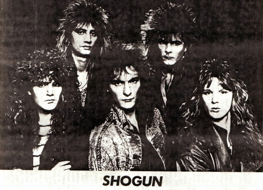 Shogun (UK) NWOBHM Alan Marsh