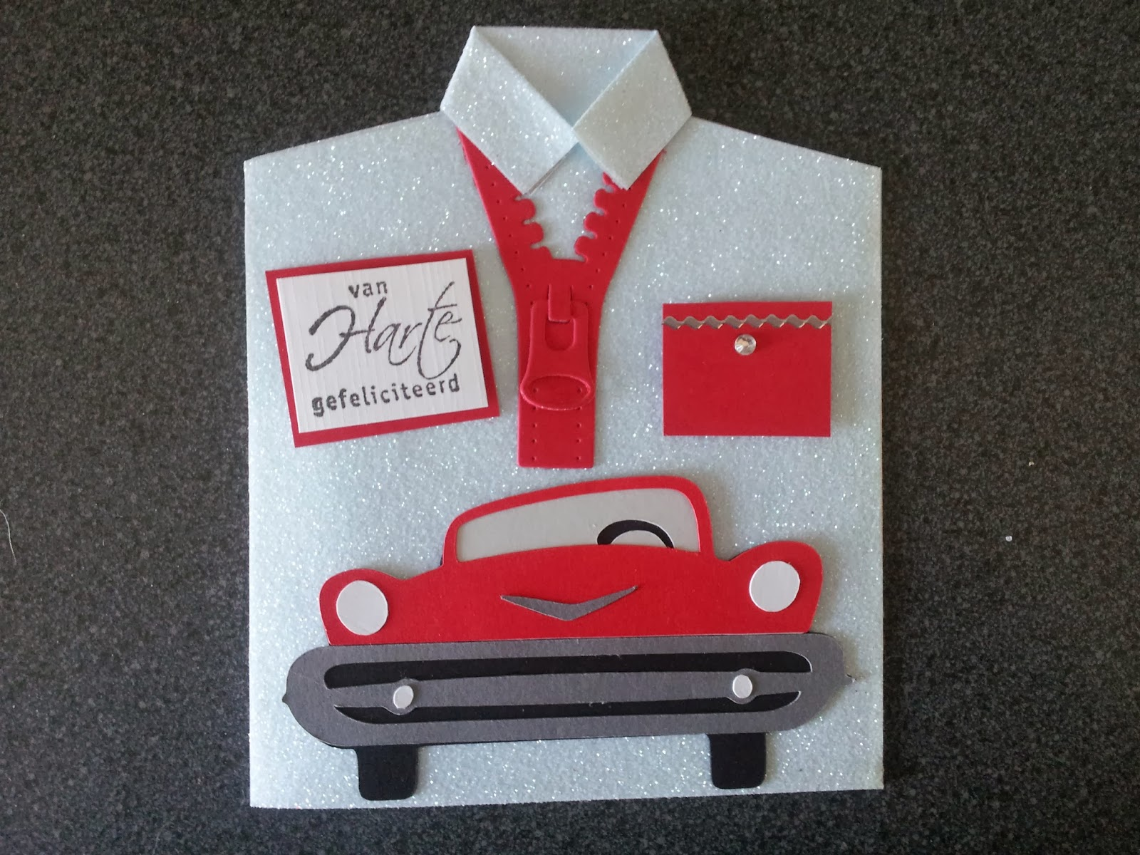 Top Verjaardagskaart Auto Nle 38 Wofosogo