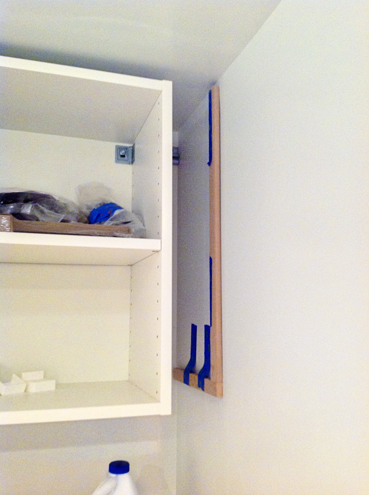 Superbe How To Make Cabinets Look Built In (and DIY Ikea PAX Filler Panels)