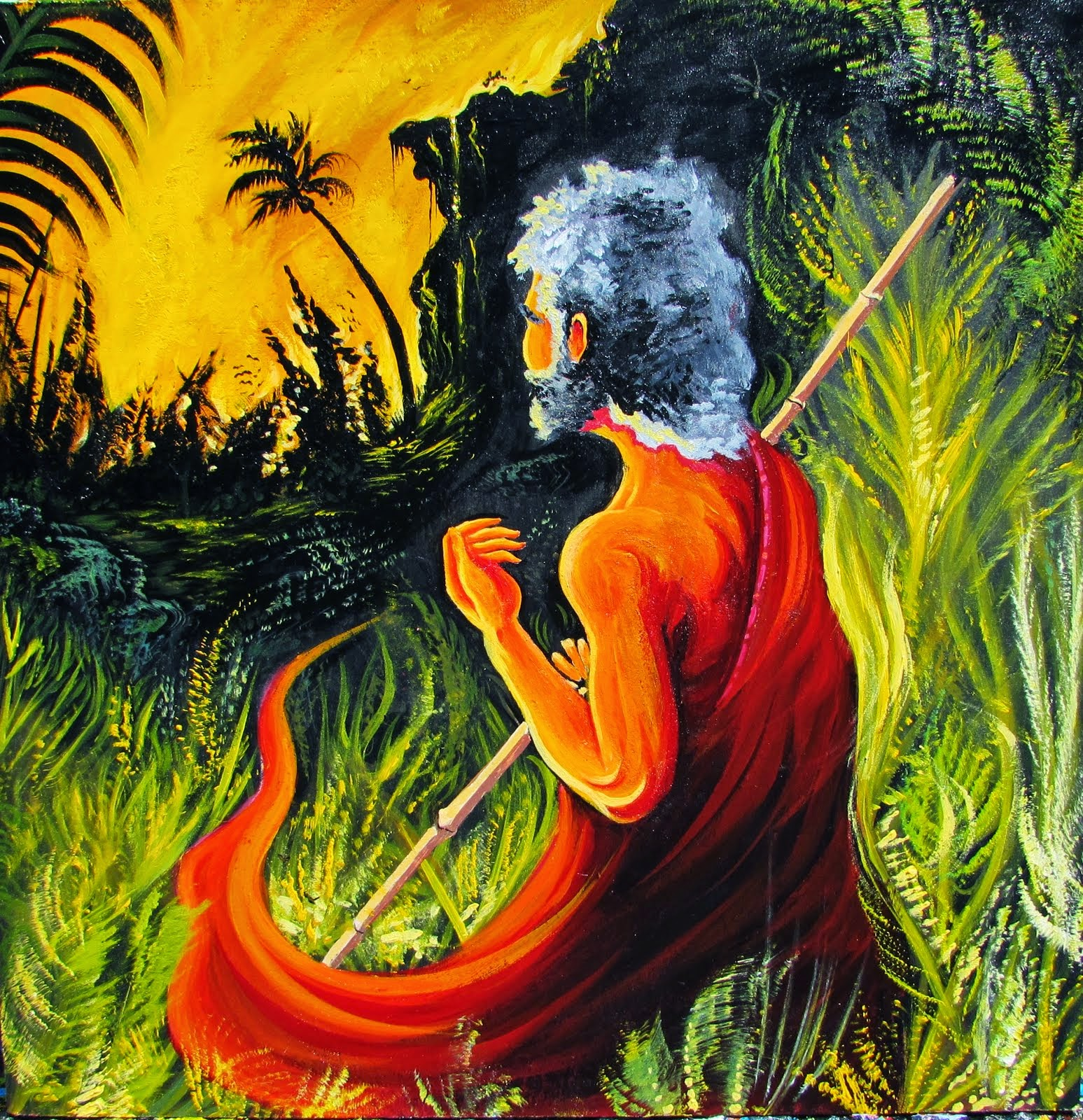 Osnan y la selva encendida