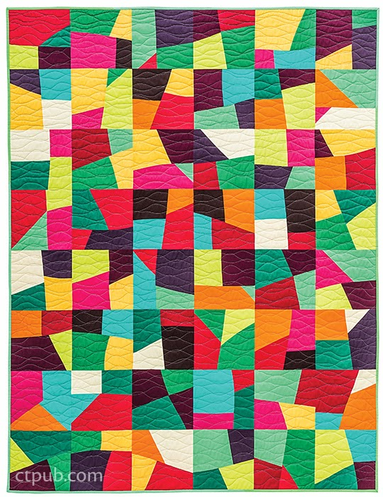 Historically modern quilts textiles design modern for Modern house quilts