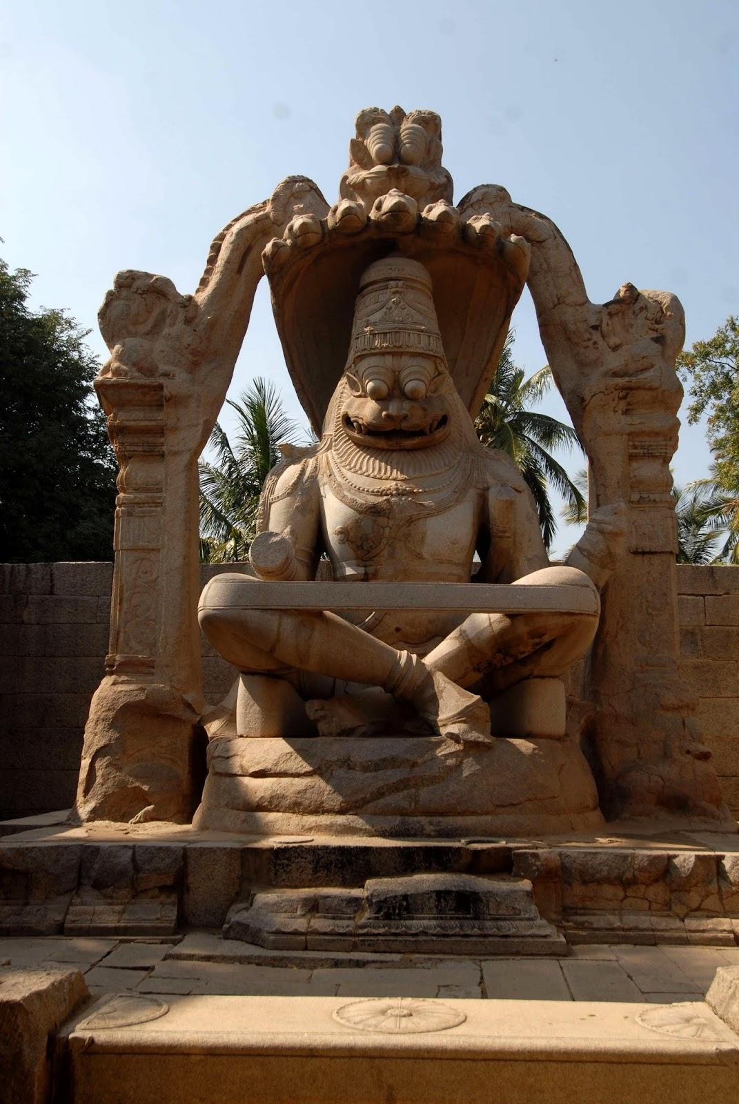 Ugra Narasimha, Hampi