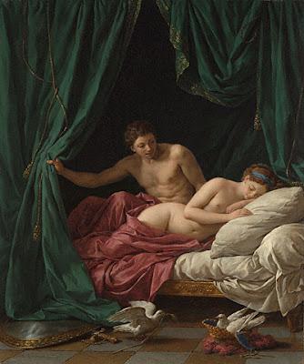 Louis Jean-françois Lagrenée - Mars et Venus, allégorie de la paix; 1770