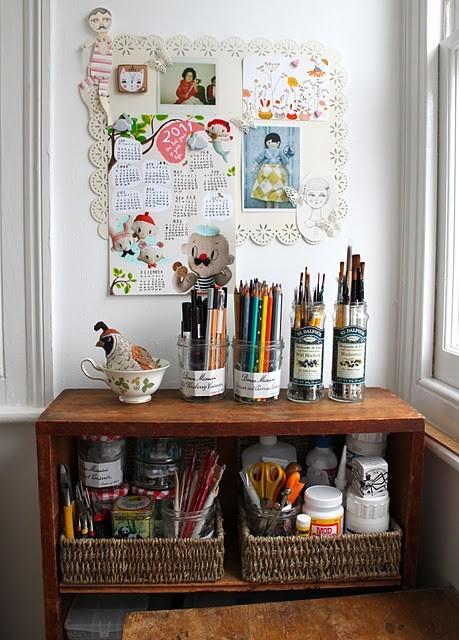 Cuarto de manualidades for Como decorar tu cuarto con manualidades