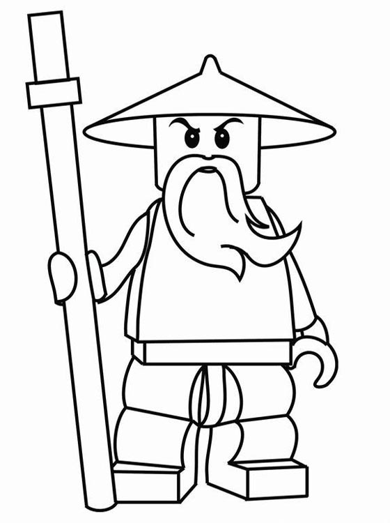 Lego Ninjago colouring Pages Online title=