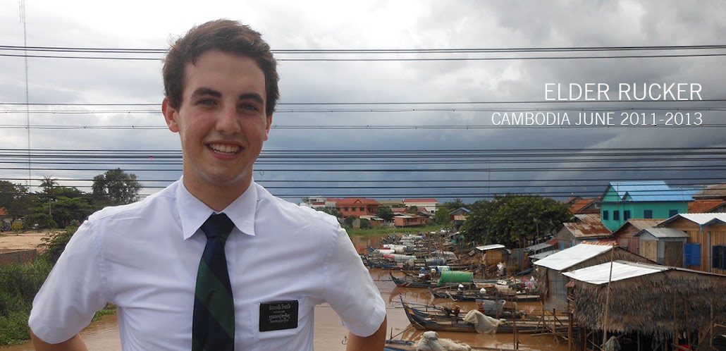 Elder Rucker is in Cambodia