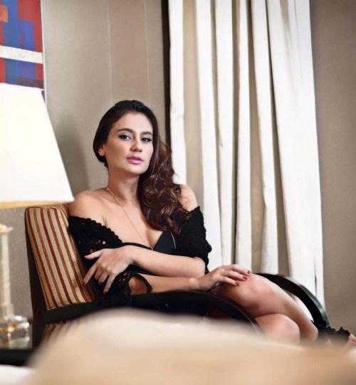 Marissa Nasution di Majalah Male