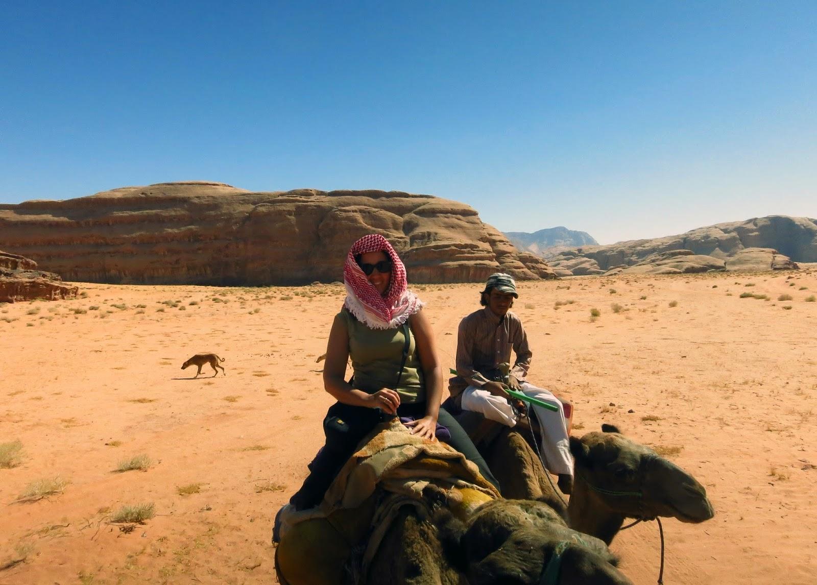 Wadi Rum, ruta camello