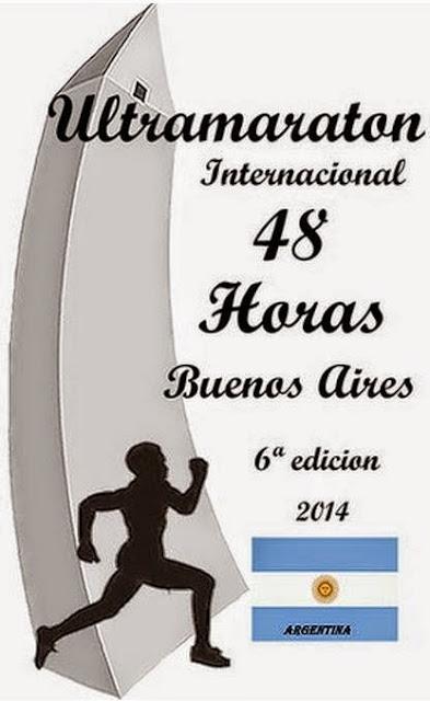 Ultramaratón 48 horas en pista (parque Sarmiento, Buenos Aires, ARG, 31/oct a 02/nov/2014)