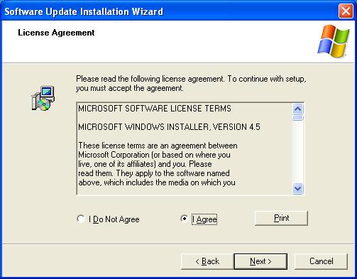 Windows Installer 4.5 скачать - фото 9