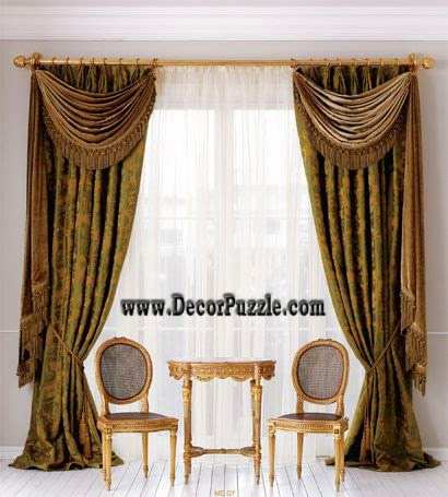 Modern Luxury Curtain Designs 2017, Modern Curtain Styles