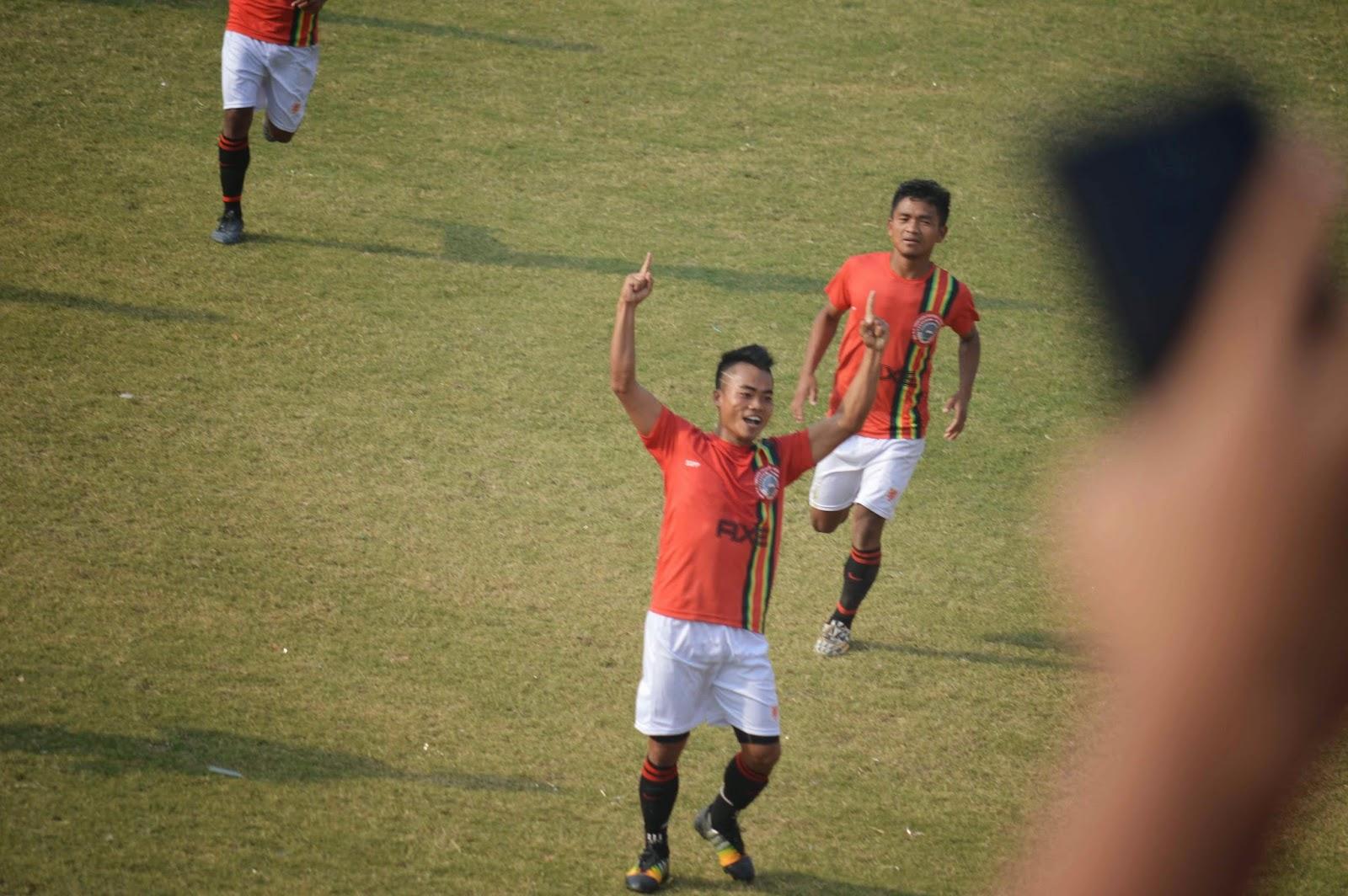 SSPP FC In Goal Nih In Nyishi FC zou