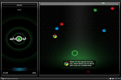 Absorb__華麗的圓球擊破, 考驗你的反應 (DHTML)