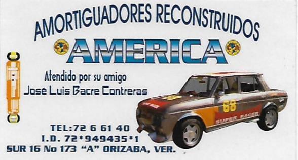 AMORTIGUADORES  RECONSTRUIDOS AMERICA