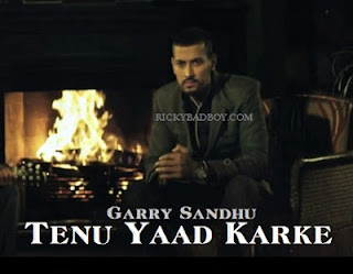 Garry Sandhu - Tenu Yaad Karke Lyrics Dark Nights