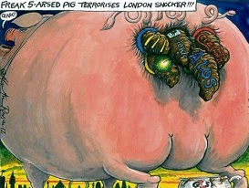 Martin Rowson: Olympic Sponsors 2012.