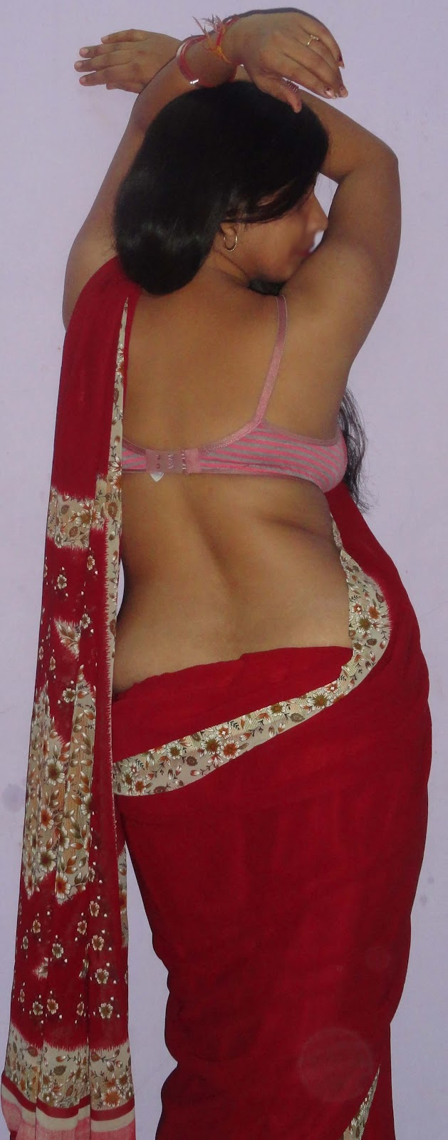 Hot indian saree ass