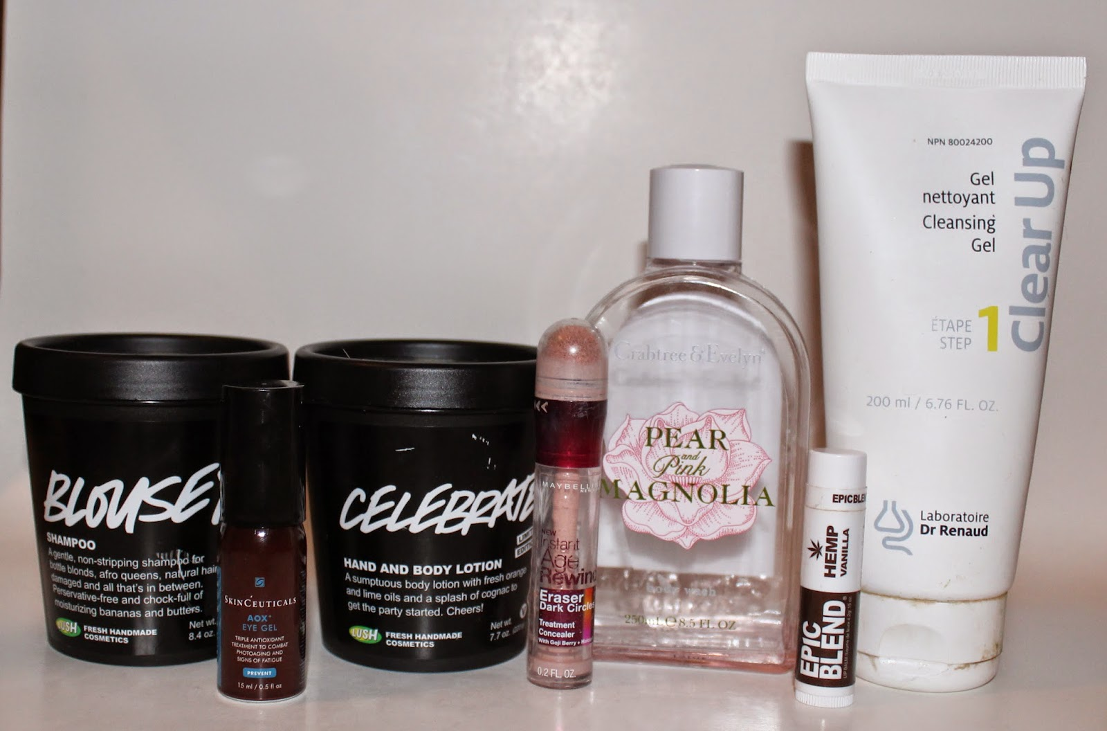 Recent Empties