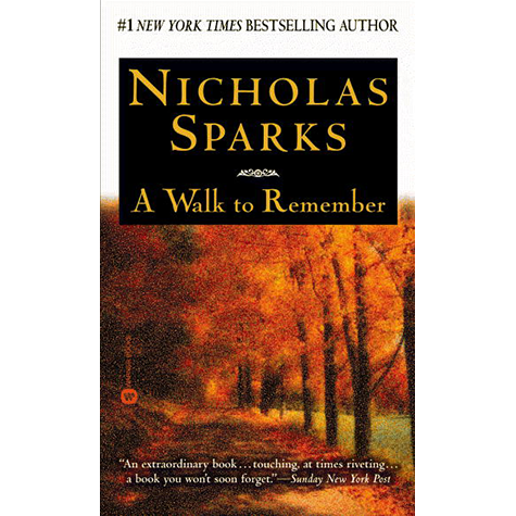 Book Bucket Challenge - A Walk to Remember