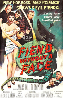 Poster - Fiend Without a Face (1958)