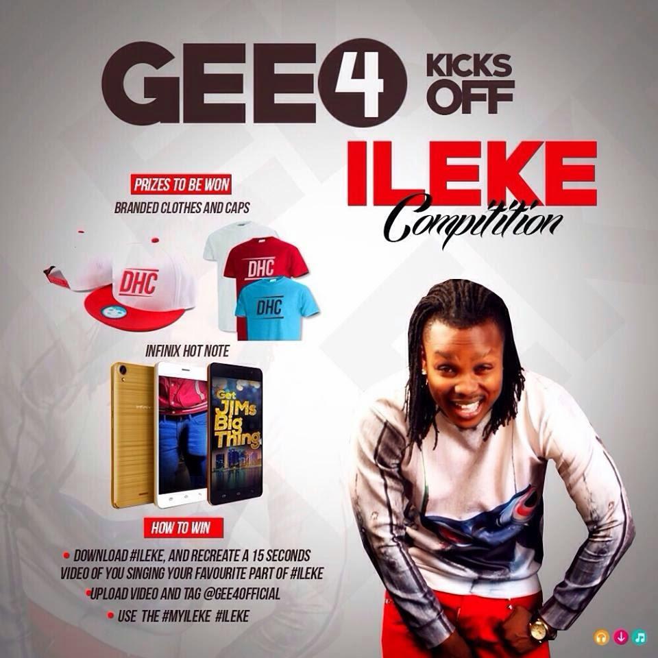 Gee4 'Ileke' Promo