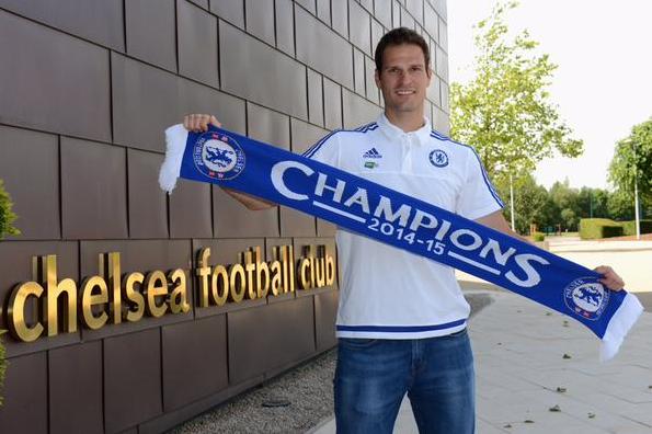 Asmir Begovic:Saya sangat senang bisa bergabung chelsea