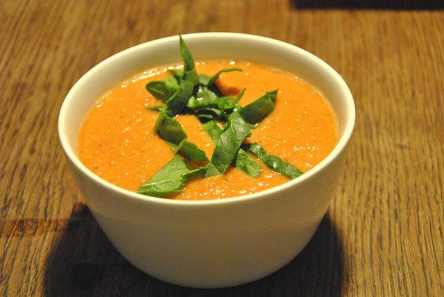 Gazpacho - Eine kalte Tomatensuppe
