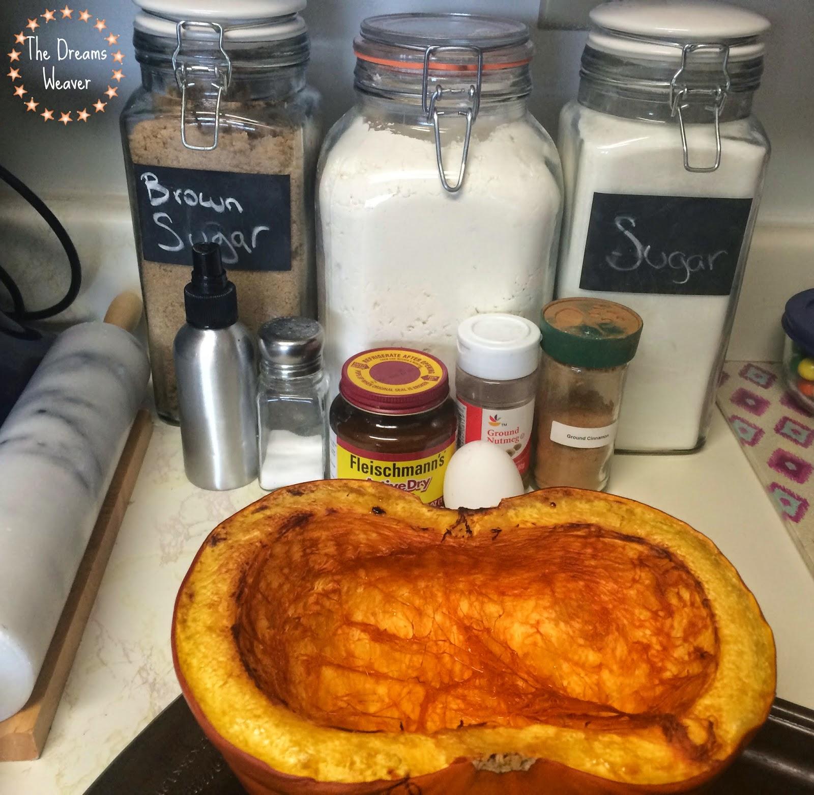 Pumpkin Cinnamon Buns~ The Dreams Weaver