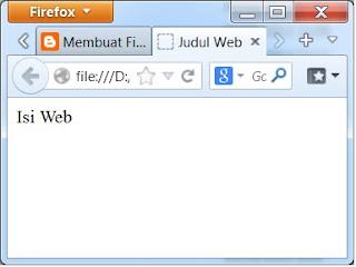 Pada posting saya kali ini akan mengulas mengenai salah satu bahasa pemrograman web Struktur HTML dan fungsinya