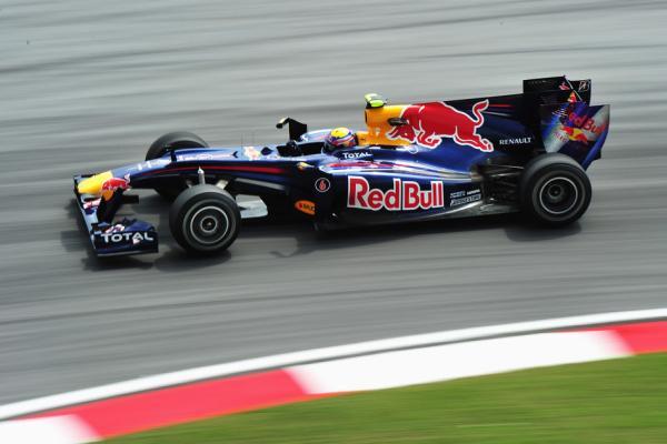 El Red Bull de Sebastian Vettel