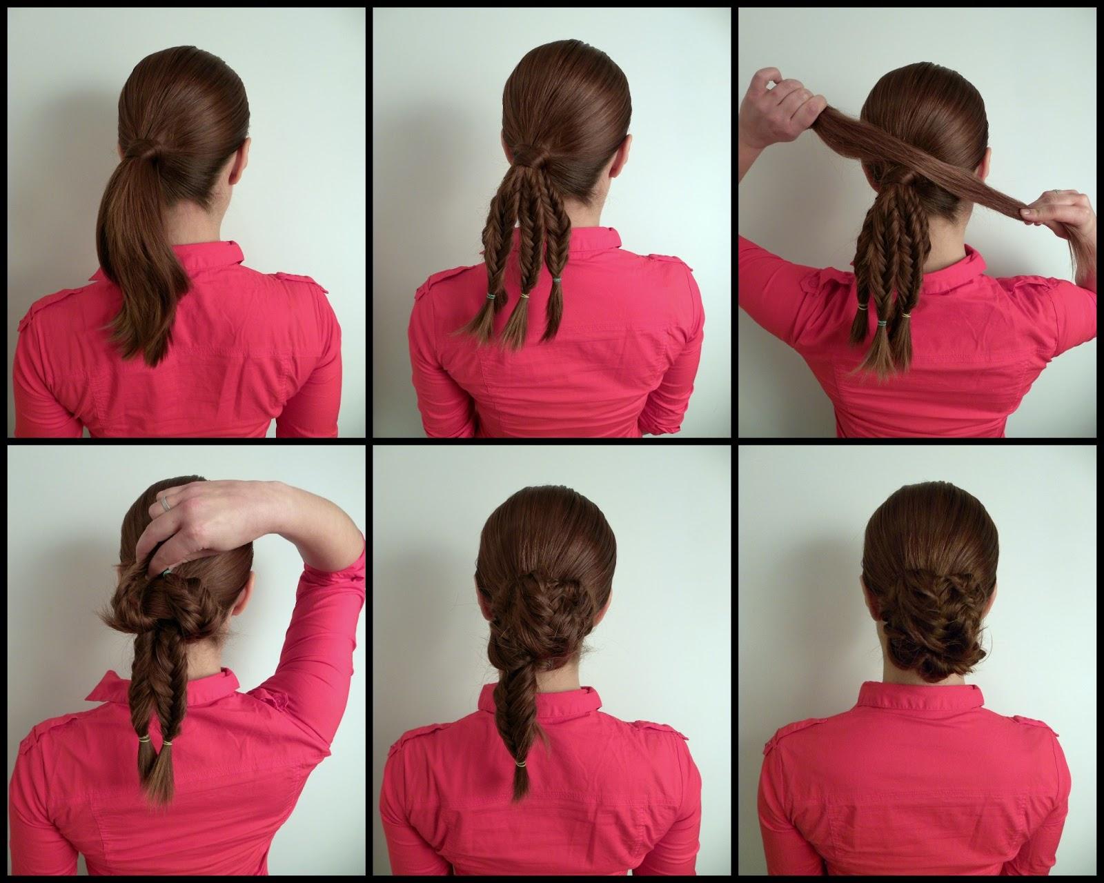 Легкие прически на средние волосы с челкой самой себе фото
