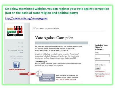 voice against corruption