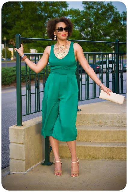 McCall's 7167 | The Criss Cross Back Culotte Jumpsuit! Erica B's DIY Style!