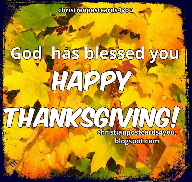 Happy thanksgiving day image free card