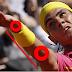 Lançamento da Bola no Saque do Tenis