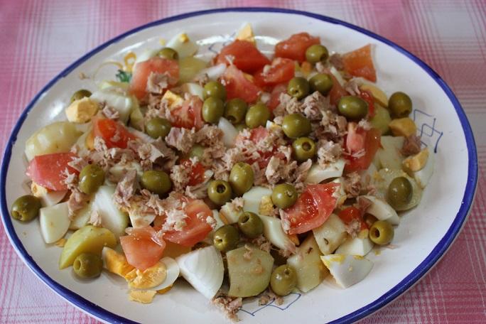 Recetas de ensaladas bajas en calorias para adelgazar - Calorias boquerones en vinagre ...