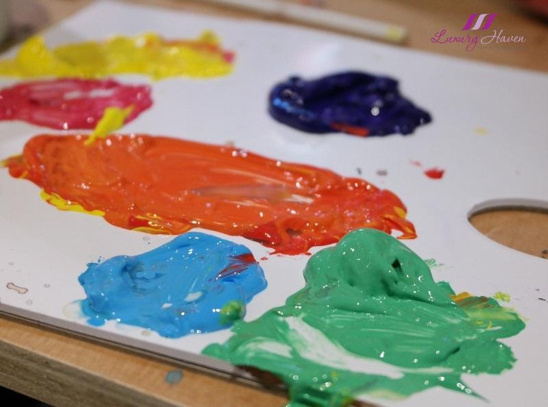 singapore art jamming arteastiq acrylic paint palette