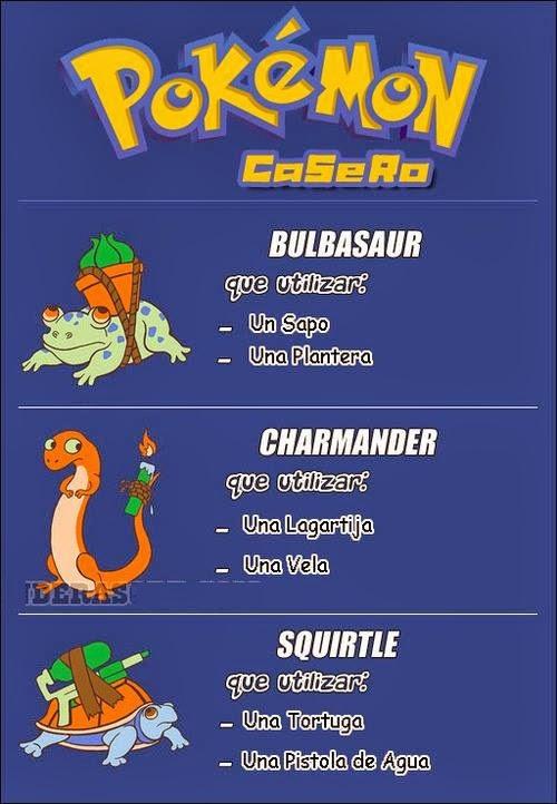 Pokemón Casero