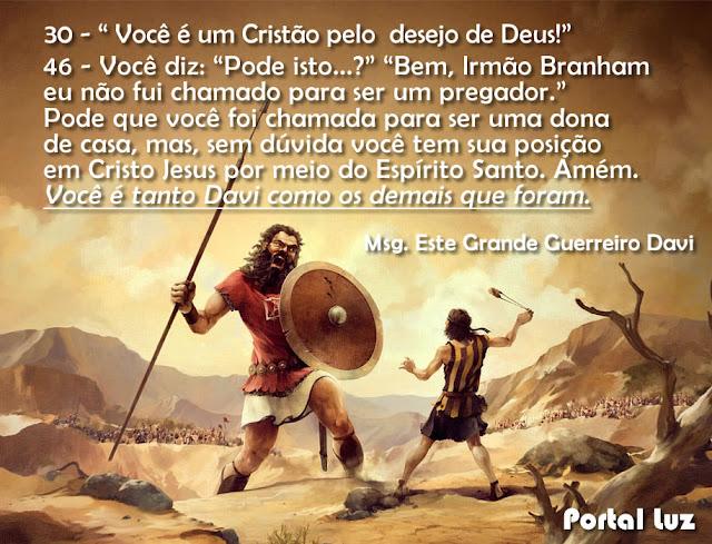 Você é um Cristão pelo desejo de Deus!