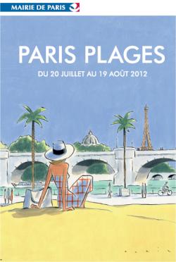 Affiche Paris Plages 2012