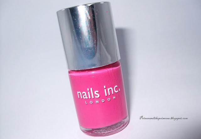Nails Inc Nail Polish Review - Strawberry Hill
