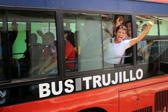 El primer año de Bus Trujillo