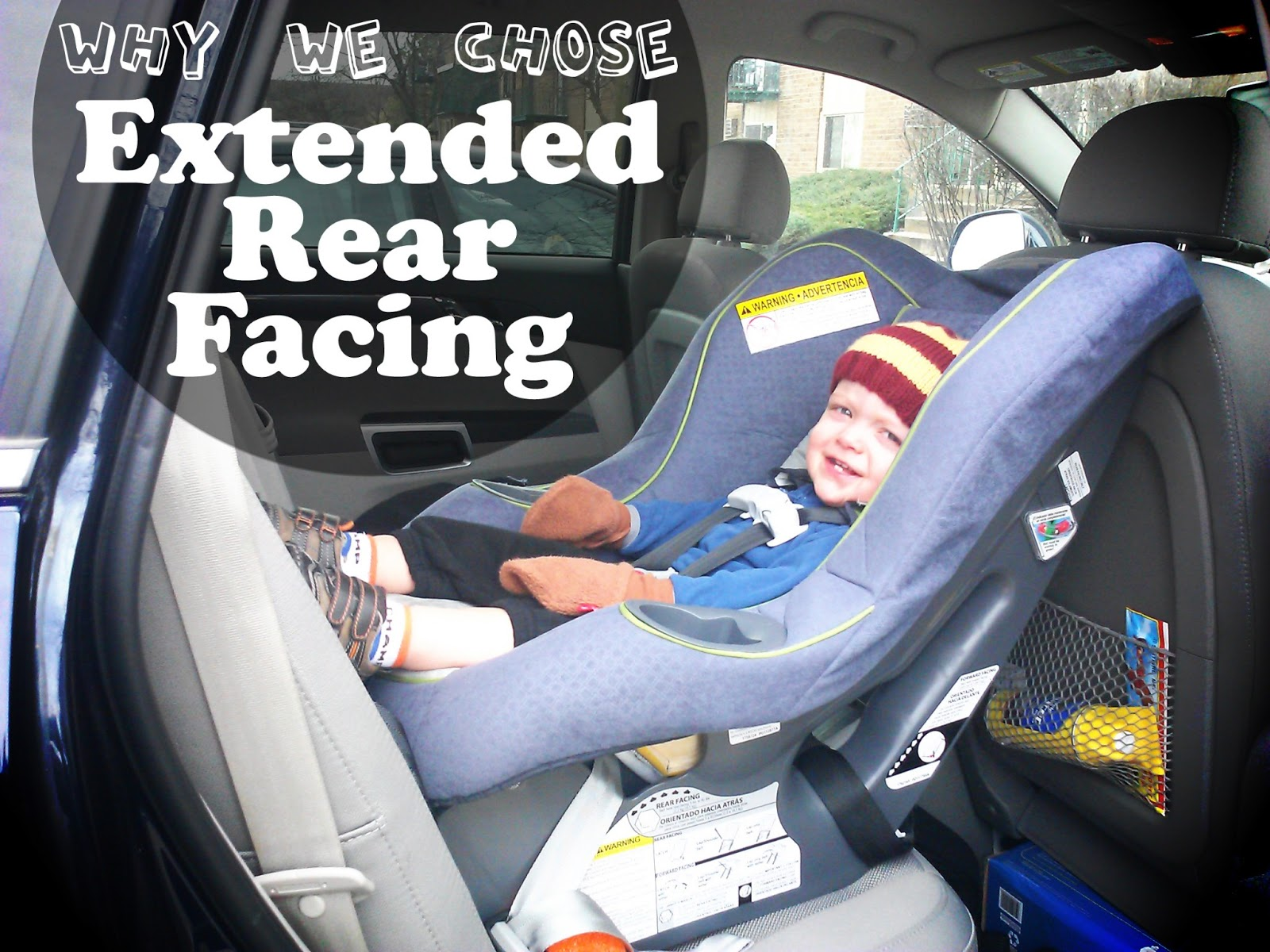 Extended Rear Facing - The Accidental Wallflower