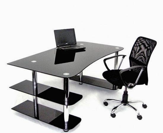 Фото стеклянный офисный стол