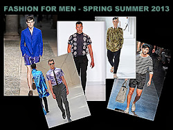 Our Latest on Men's Fashion 2013