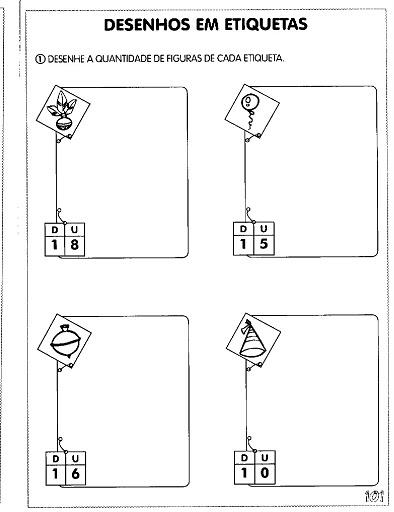 Atividades De Sistema De Numera    O Decimal   Dezenas E Unidades