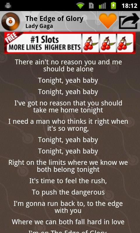 Aplikasi Pemutar musik android dengan lirik