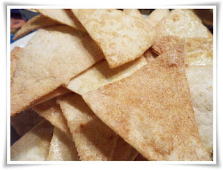 Cinnamon Sugar Nacho Chips